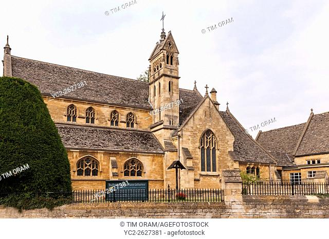 The Parish Church of Saint Catherine in Chipping Campden , Gloucestershire , England , Britain , Uk