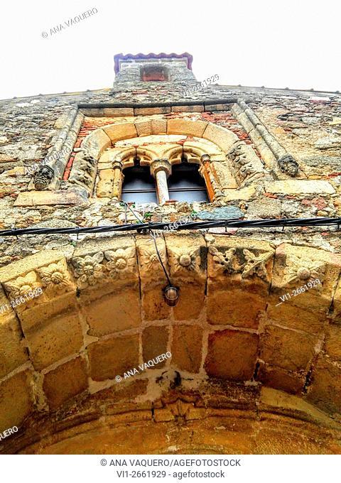 Church, Abertura, Cáceres province, Extremadura, Spain