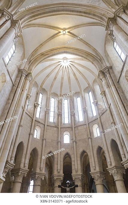 Choir, Monastery church, Alcobaca, Portugal