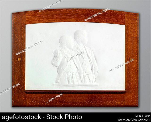 The Children of Prescott Hall Butler. Artist: Augustus Saint-Gaudens (American, Dublin 1848-1907 Cornish, New Hampshire); Date: 1880-81; carved 1906-7; Medium:...