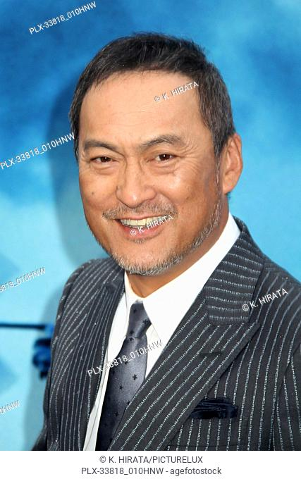 """Ken Watanabe 05/18/2019 """"""""Godzilla: King of the Monsters"""""""" Premiere held at the TCL Chinese Theatre in Hollywood, CA. Photo by K"""