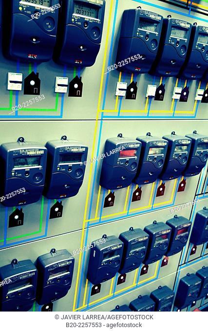 Smart electric meters. LV Meters for AMI Applications. Euskadiko Parke Teknologikoak. Zamudio. Bizkaia. Basque Country. Spain