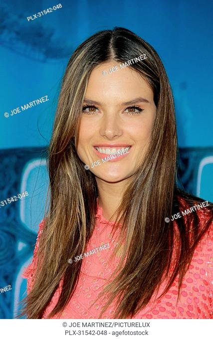 Alessandra Ambrosio at the World Premiere of Disney Pixar's Brave. Arrivals held at Dolby Theatre in Hollywood, CA, June 18, 2012