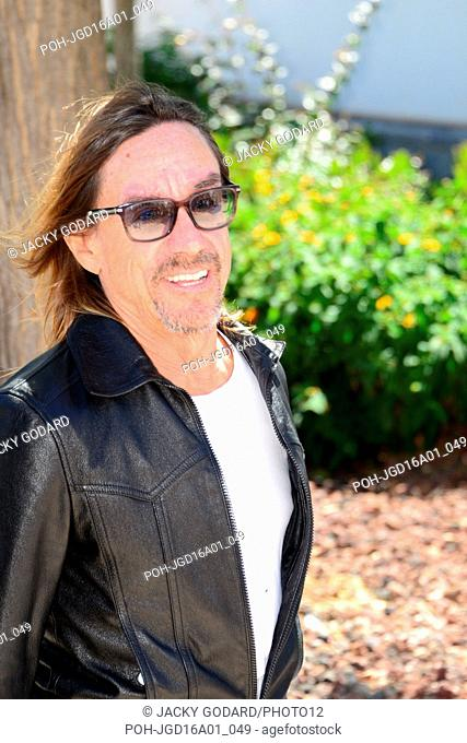 Iggy Pop Photocall of the film 'Gimme Danger' 69th Cannes Film Festival May 19, 2016