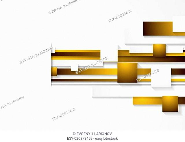 Vector abstract tech background