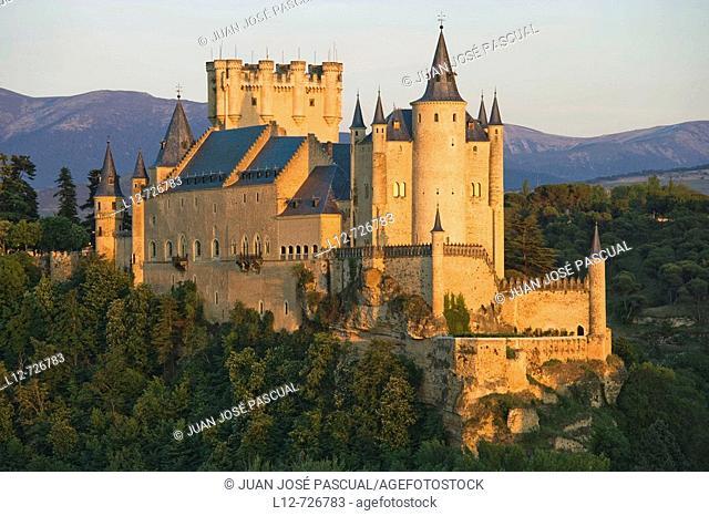 Alcazar, Segovia. Castilla-Leon, Spain