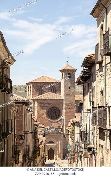 Siguenza is a medieval village in Guadalajara Castile La Mancha Spain on June 13, 2017