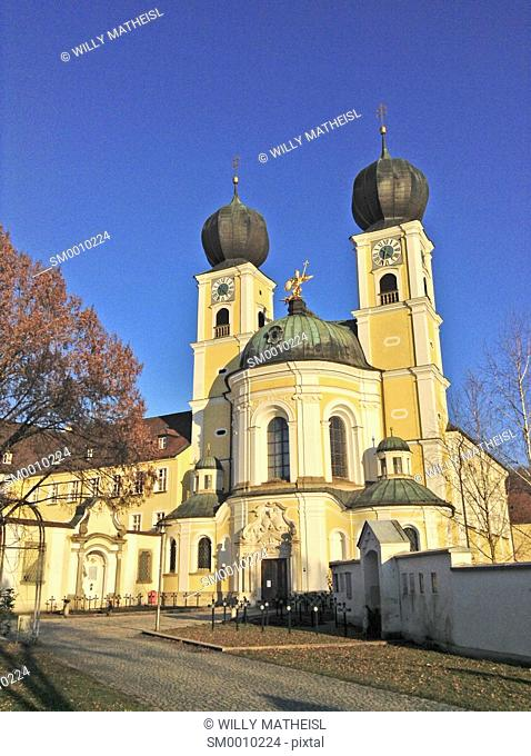 Church St Michael in Metten Lower Bavaria Germany