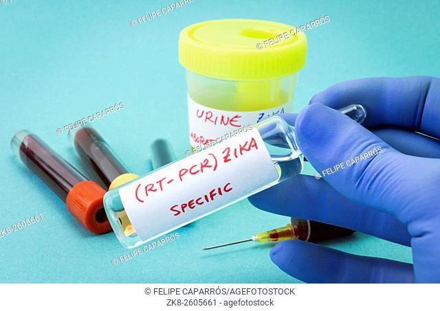 Zika, concept of medicine vaccine specific