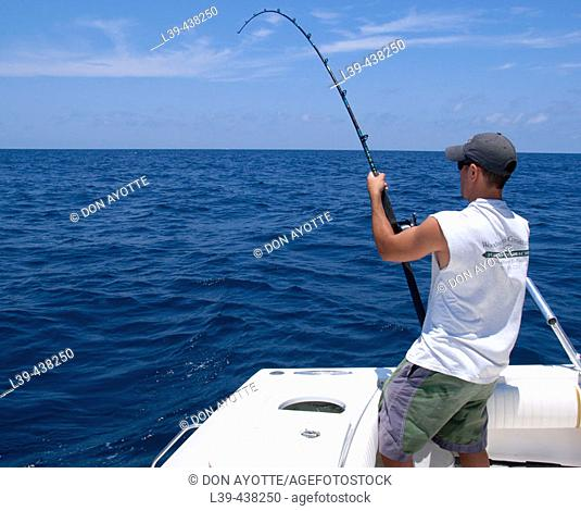 Fishing trip in the Gulf of Mexico