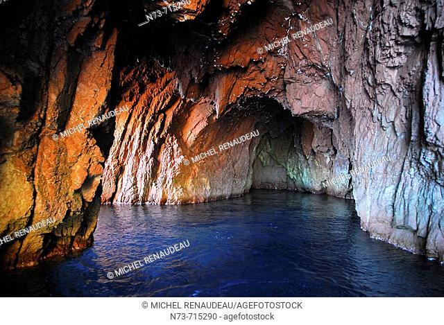 Gulf of Porto, Scandola Nature Reserve. Corse-du-Sud, Corsica, France