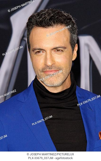 "Reid Scott at the World Premiere of Columbia Pictures' """"Venom"""" held at the Regency Village Theater in Westwood, CA, October 1, 2018"
