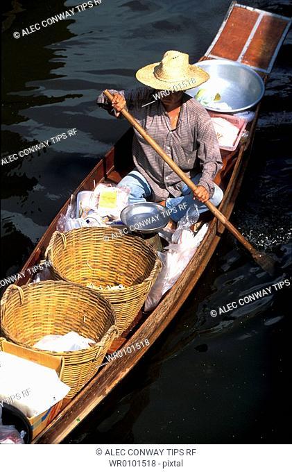 Thailand, Damnoen Saduak, floating market
