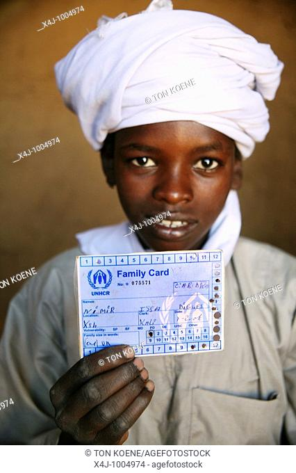humanitarian aid is provided to 30 000 sudanese refugees who have fled from darfur since the war broke out in 2003  they have settled in a refugee camp inside...