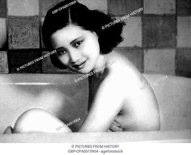 China: Xu Lai, Shanghai-based Chinese film star, 1930s