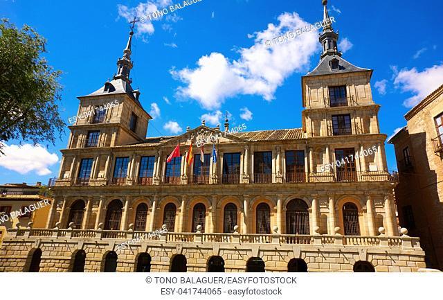Toledo Ayuntamiento in Castile La Mancha of Spain
