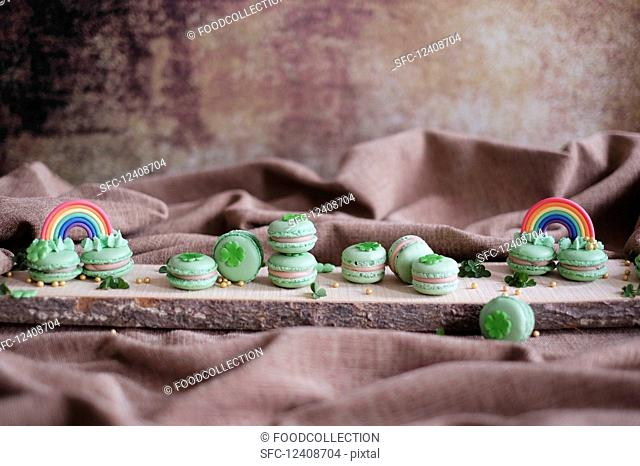 Macarons for St. Patrick's Day