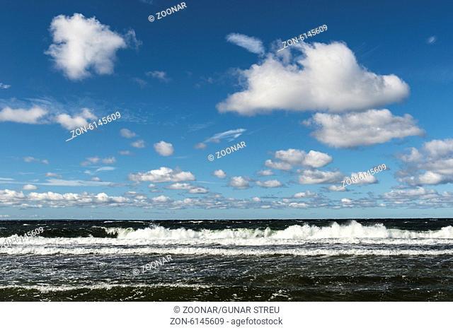 clouds above Baltic Sea, Gotland, Swden