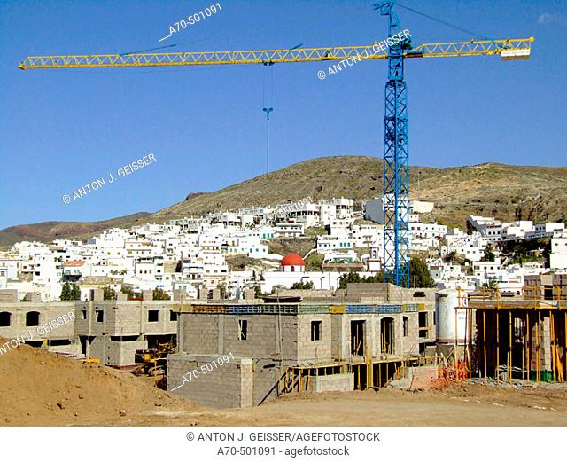 Baustelle Hausbau Gran Canaria