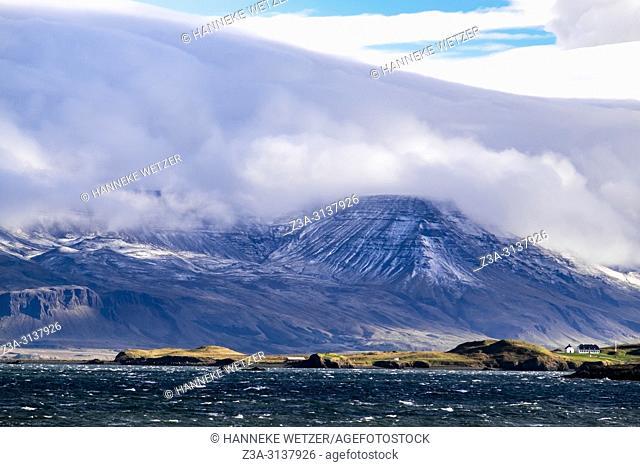 Mount Esja seen from Reykjavik, Iceland