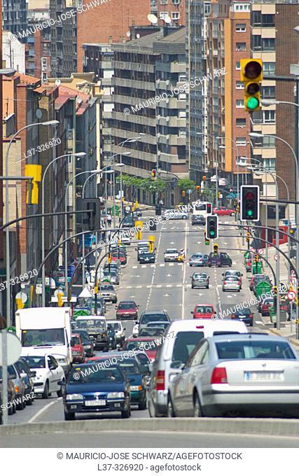 Ramón y Cajal Street. Gijón. Asturias, Spain