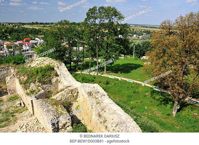 View of Ilza from the Castle. Ilza, Masovian Voivodeship, Poland