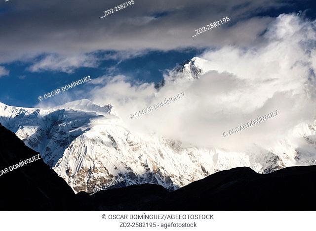 Cho Oyu peak. Sagarmatha National Park. Solukhumbu District. Nepal