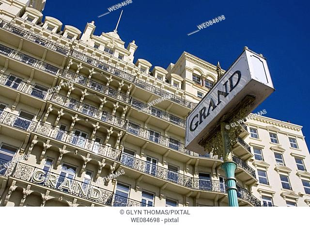 Grand Hotel, Brighton, East Sussex, England