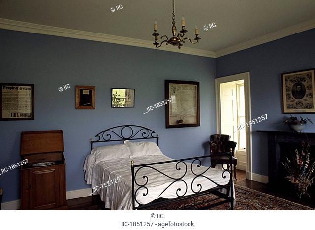 Co Kerry, Derrynane House Bedroom, Daniel O'Connell