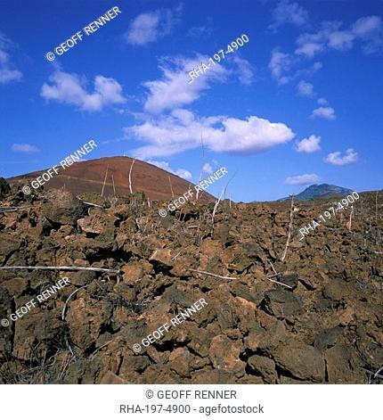 Rocks in a volcanic landscape on Ascension Island, mid Atlantic