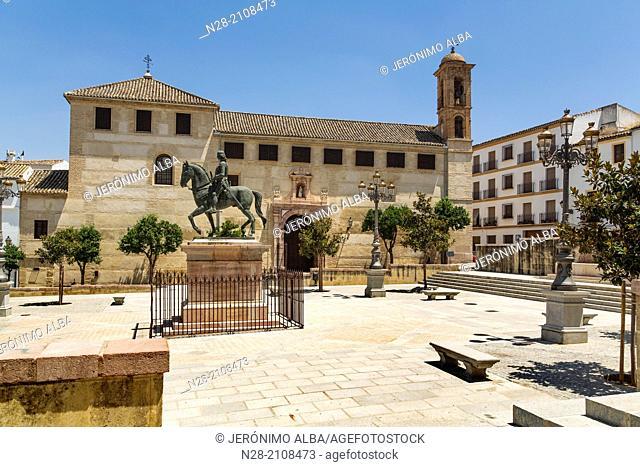 Plaza del Coso Viejo, Antequera, Malaga, Andalusia, Spain