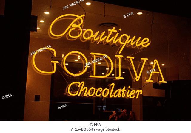 Belgian chocolate Godiva