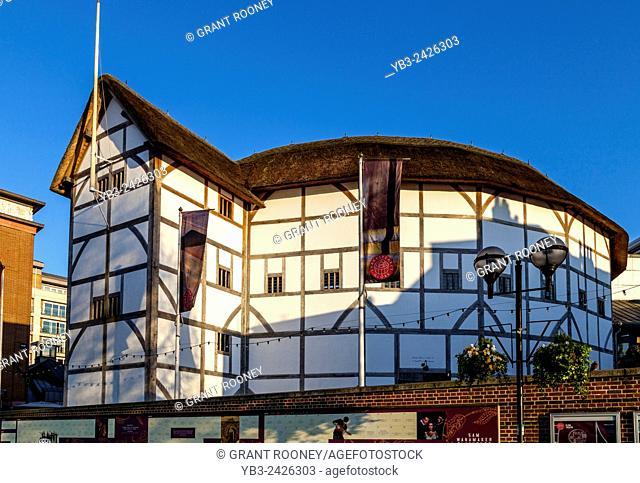 Shakespeare's Globe, Southwark, London, England