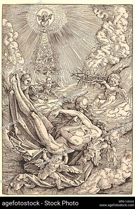 The Body of Christ Carried by Angels towards Heaven. Artist: Hans Baldung (called Hans Baldung Grien) (German, Schwäbisch Gmünd (?) 1484/85-1545 Strasbourg...