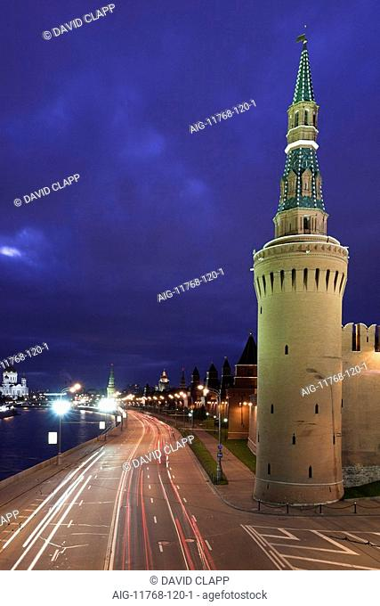 Vodovzvodnaya Tower, The Kremlin, Moscow. 1488. Architect: Antonio Gilardi