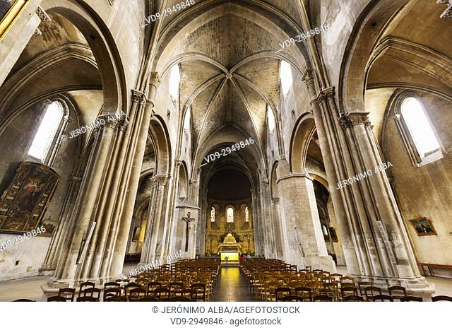 Sainte Croix church, Bordeaux. Aquitaine Region, Gironde Department. France Europe