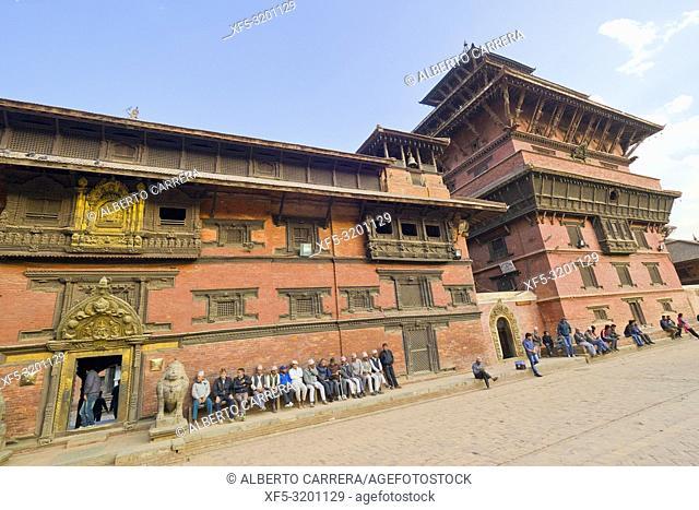 Royal Palace, Durbar Square, UNESCO World Heritage Siite, Patan, Latipur, Kathmandu, Nepal, Asia