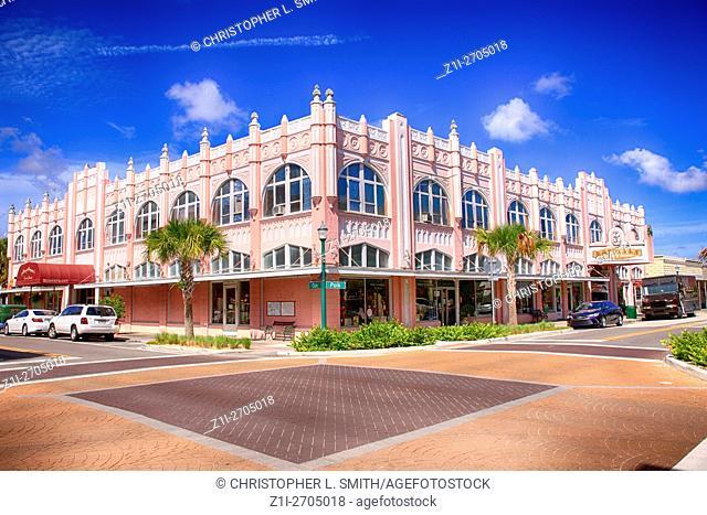 The 1926 arcade aka Koch building in downtown Arcadia, FL