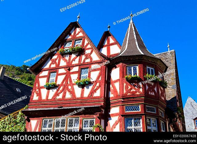 Altes Fachwerkhaus, Bacharach am Rhein