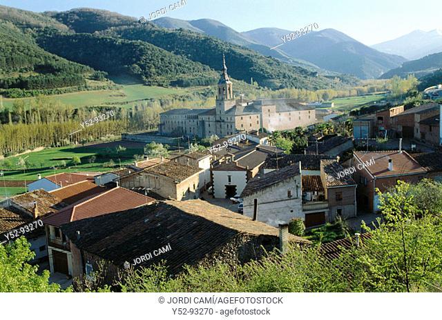 Yuso Monastery. San Millán de la Cogolla, La Rioja. Spain