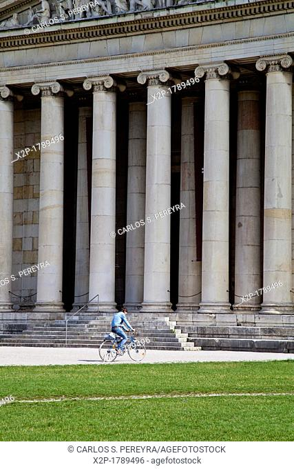 Glyptothek building, a museum of Greek and Roman sculptures from the ancient world, Koenigsplatz square, Maxvorstadt, Munich, Upper Bavaria, Germany, Europe