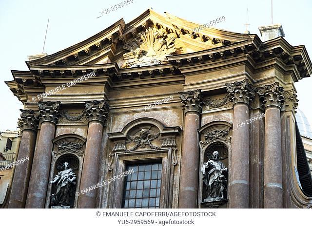 Holy Trinity Church of the Pilgrims, Rome, Italy
