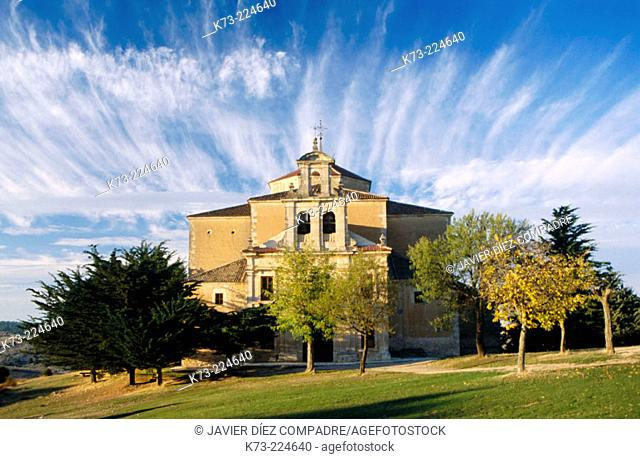 Hornuez Baroque chapel. Segovia province. Spain