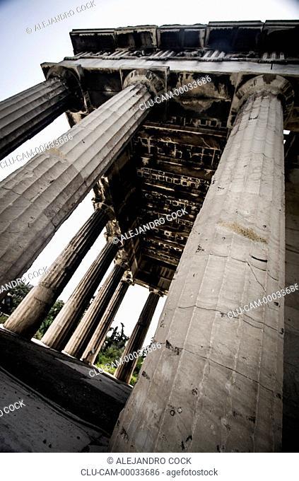 Temple of Teseo, Acropolis, Athens, Greece, Western Europe