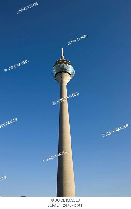 Rheinturm Tower, Duesseldorf, North Rhine Westphalia, Germany
