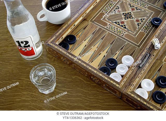 Iconic Greece  Tavli, Ouzo and Strong Greek Coffee