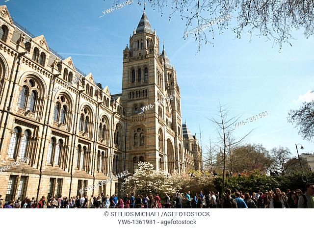 Natural History Museum in London,England