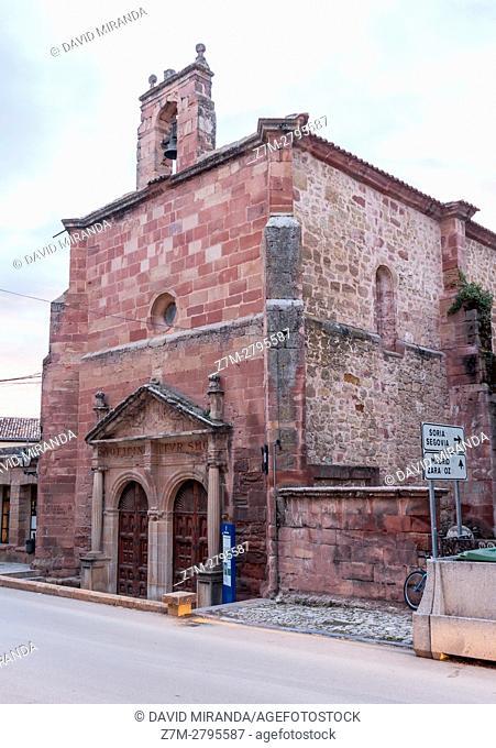 Humilladero Hermitage, Sigüenza, Guadalajara province, Castile La Mancha, Spain. Historical Heritage Site