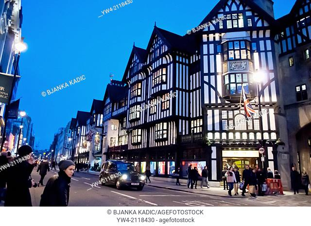 Liberty Department store, London, W1, UK