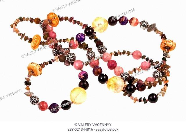 gemstone lady's bead